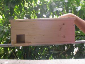 Τεχνητή φωλιά για Κουκουβάγια