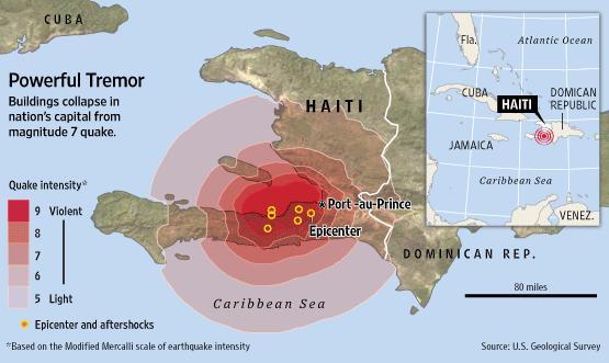 Η Δημοκρατία της Αϊτής  Πηγή: Haiti Earthquake, Caribbean (LEDC) https://www.coolgeography.co.uk/GCSE/AQA/Restless%20Earth/Earthquakes/Haiti.htm